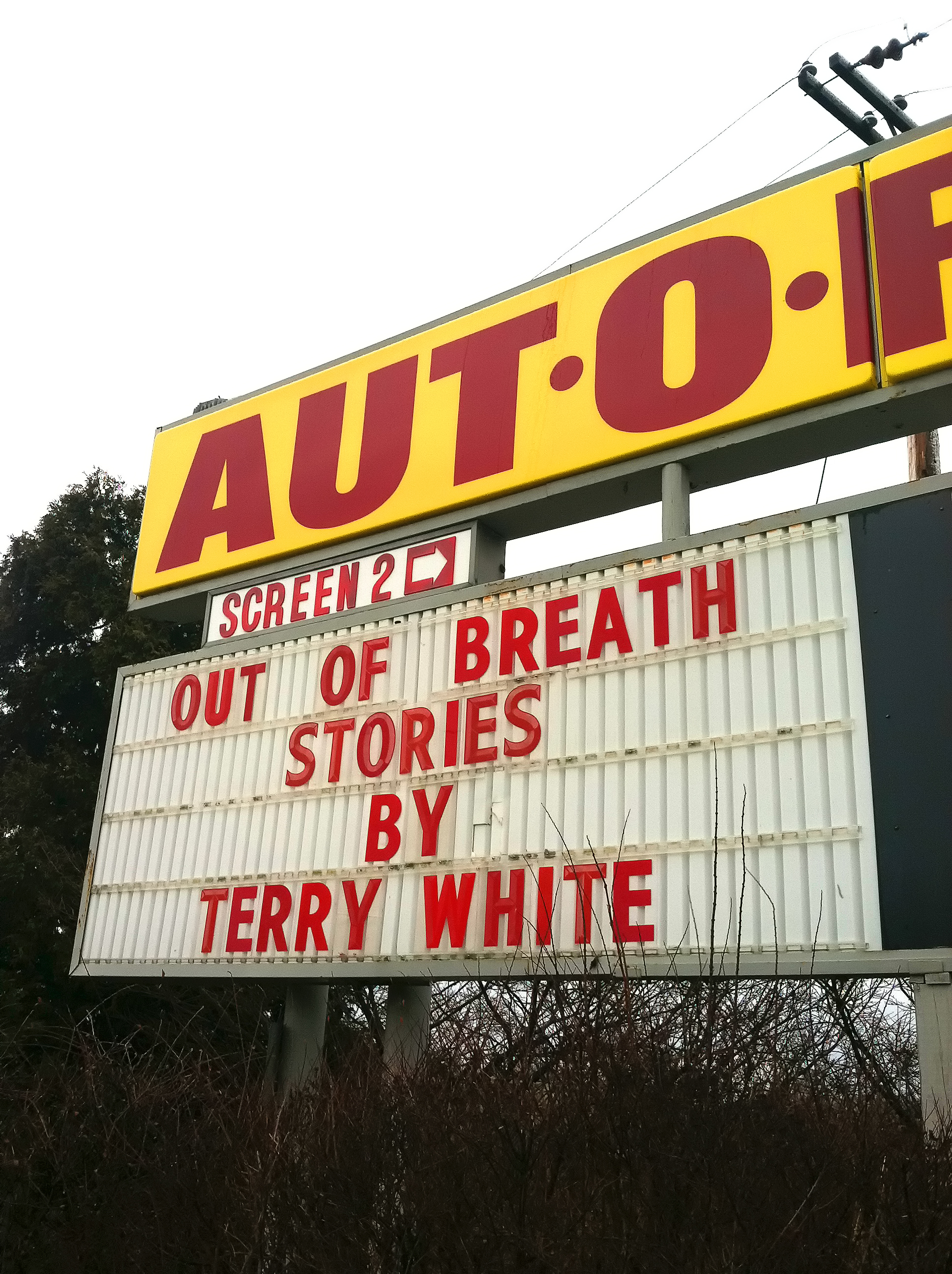 Out of Breath Stories by Terry White